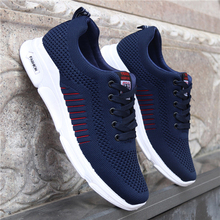 New Mesh Men Shoes Casual Men Sneakers Mens Fashion Shoe For Male Footwear Man Breathable Spring Autumn Lace up Feminino Zapatos стоимость