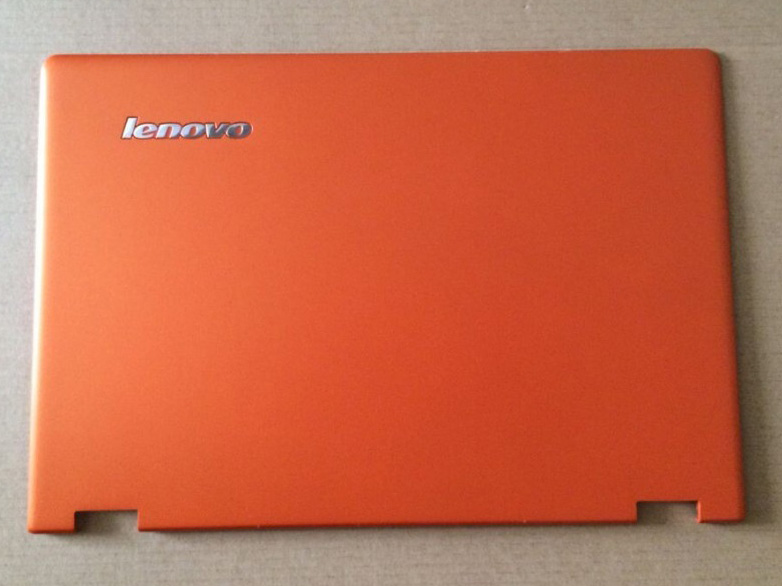 New/Orig Lenovo Ideapad Yoga 2 13 Top Lcd rear cover back Yoga2 13 Laptop Replace Cover AM138000110 Orange new orig lenovo ideapad yoga 2 yoga2 pro13 base bottom cover case silver laptop replace cover