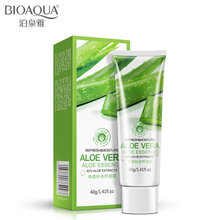 BIOAQUA Aloe Soothing Gel 40ml Vera Skin Care Remove Acne Moisturizing Cream Sunscreen Super Size