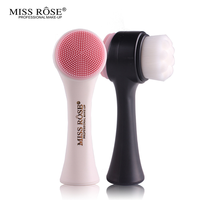 Miss Rose Deep Pore Clean Facial Cleansing Brush Face Beauty Tool Makeup Remover Brush Face Degrease remover 1set new 4 in1 makeup beauty diy facial face mask bowl brush spoon stick tool set