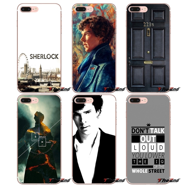 US $0 99 |Sherlock Holmes Soft Cell Phone Case Cover For Huawei Honor 4C 5X  5C 6X Mate 7 8 9 Y3 Y5 Y6 II 2 Pro G7 G8 P7 P8 P9 Lite 2017-in
