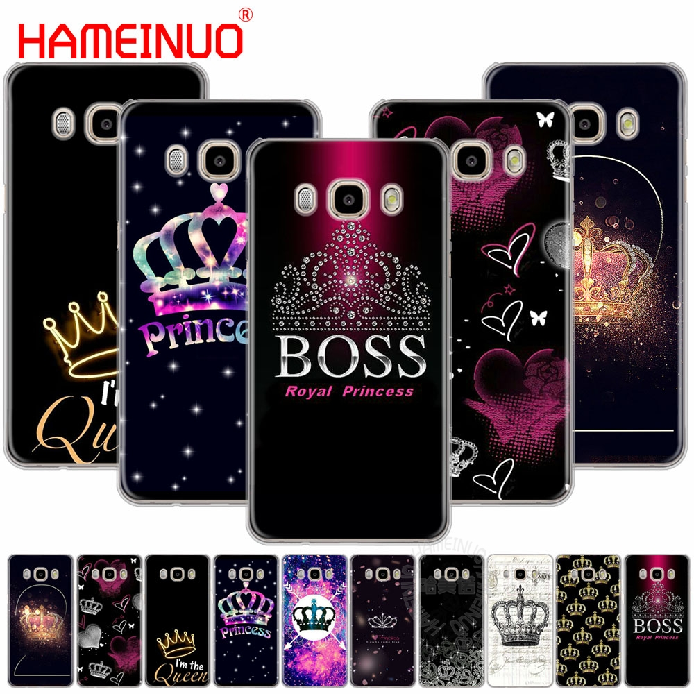 HAMEINUO Fashion Queen Crowns cover phone case for Samsung Galaxy J1 J2 J3 J5 J7 MINI ACE 2016 2015 prime