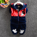 2 pcs Children's Clothing Suits 2017 New Toddler Baby Boys Girls Clothes Cotton Character Mickey Autumn Kids Girls Clothes T2920