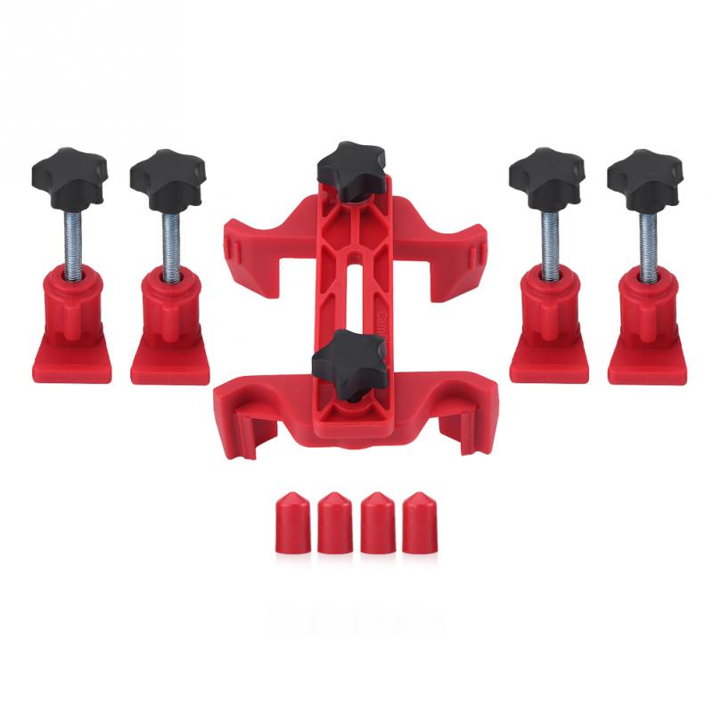 9pcs Car Auto Dual Cam Clamp Camshaft Engine Timing Sprocket Gear Locking Tool Kit Sprocket Gear Timing