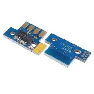 Image 3 - Conjunto 1 8K UE 80C2XK0 80C2XC0 80C2XM0 80C2XY0 chip para Lexmark CX510 CX510de CX510dhe CX510dthe cartucho de toner de impressora a laser