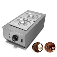 Jamielin Commercial Use Hot Chocolate Dipping Melting Machine Cylinder Electric Warmer Melter For Sale