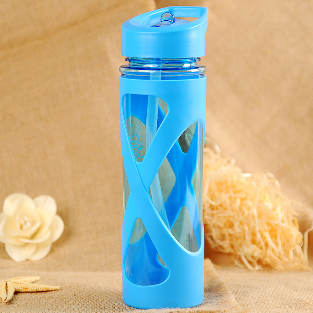 Drinkware Leak Proof 580 Ml Sealing Tour Hiking Outdoor Anti-scald Health Camping Eco-friendly Drink Dust-Proof Water Bottle