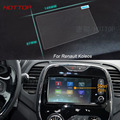 7 Inch GPS Navigation Screen Steel Protective Film For Renault Captur Control of LCD Screen Car Styling Sticker