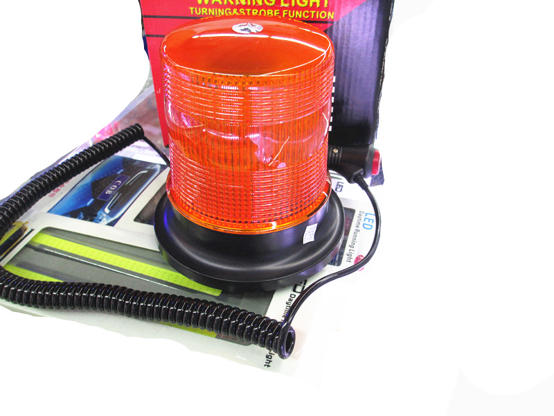 Magnetic Car Emergency Amber Orange Flash Rotating Beacon Strobe Light Lamp 12V / 24V 80 led emergency vehicle flash strobe and rotating beacon warning light amber