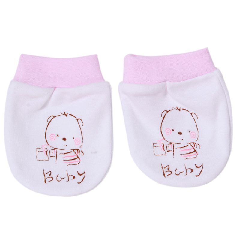 Aktiv Baumwolle Mischung Schöne Baby Beweis Handschuhe Komfortable Frei Atmen Anti Verkratzen Baby Handschuhe Neugeborenen Handschuh Sa674147