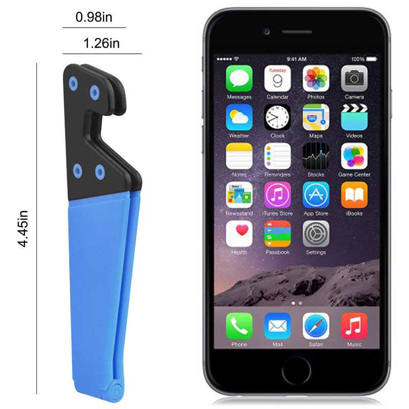 Fimilef Telefon Halter Faltbare Handy Unterstützung Stehen für iPhone X Tablet Samsung S10 Verstellbare Mobile Smartphone Halter Stehen