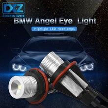 DXZ 2Pcs 5W 6500k LED Angle Eyes Halo Xenon Marker Ring Light Error No Bulb For BMW E39 E53 E60 E61 E63 E64 E65 E66 X5