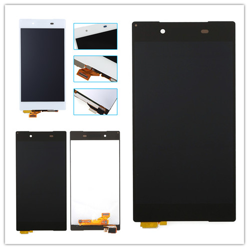 JIEYER Black or white LCD Display For Sony Xperia Z5 E6603 E6633 E6653 E6683 Touch screen digitizer Assembly+adhesive Rated 4.2