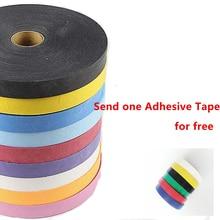 Check Price Powerti Sticky Tennis Racket Tape Badminton Racket Overgrip 0.75mm Adhesive Squash Racket Grips Adhensive Tape