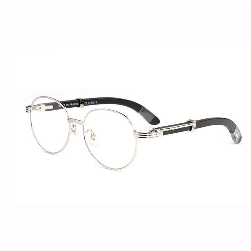 e9ba8985de Vazrobe Men s Glasses Frame Wood Eyeglasses for Man Gold Non-prescription  Anti Reflective Clear Lens for Optic Spectacles Oval