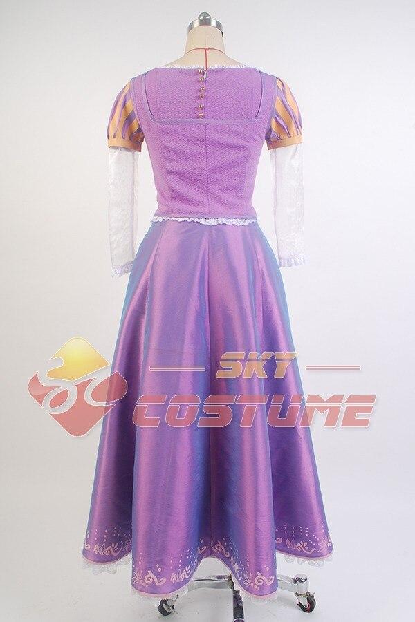 Niñas enredadas Princesa Rapunzel Disfraz Las Mujeres Adultas Visten - Disfraces - foto 4