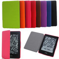 Ultra-slim PU Leather+Plastic Shell for Kindle Paperwhite Case pouch cover  for Kindle Paperwhite 6 inch Smart cover
