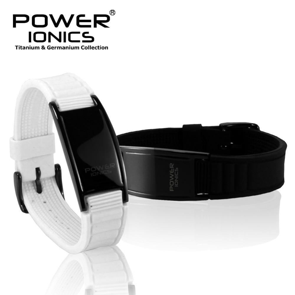 Power Ionics Klassisk stil Sport Titanium Armband Armband Balans - Märkessmycken - Foto 5
