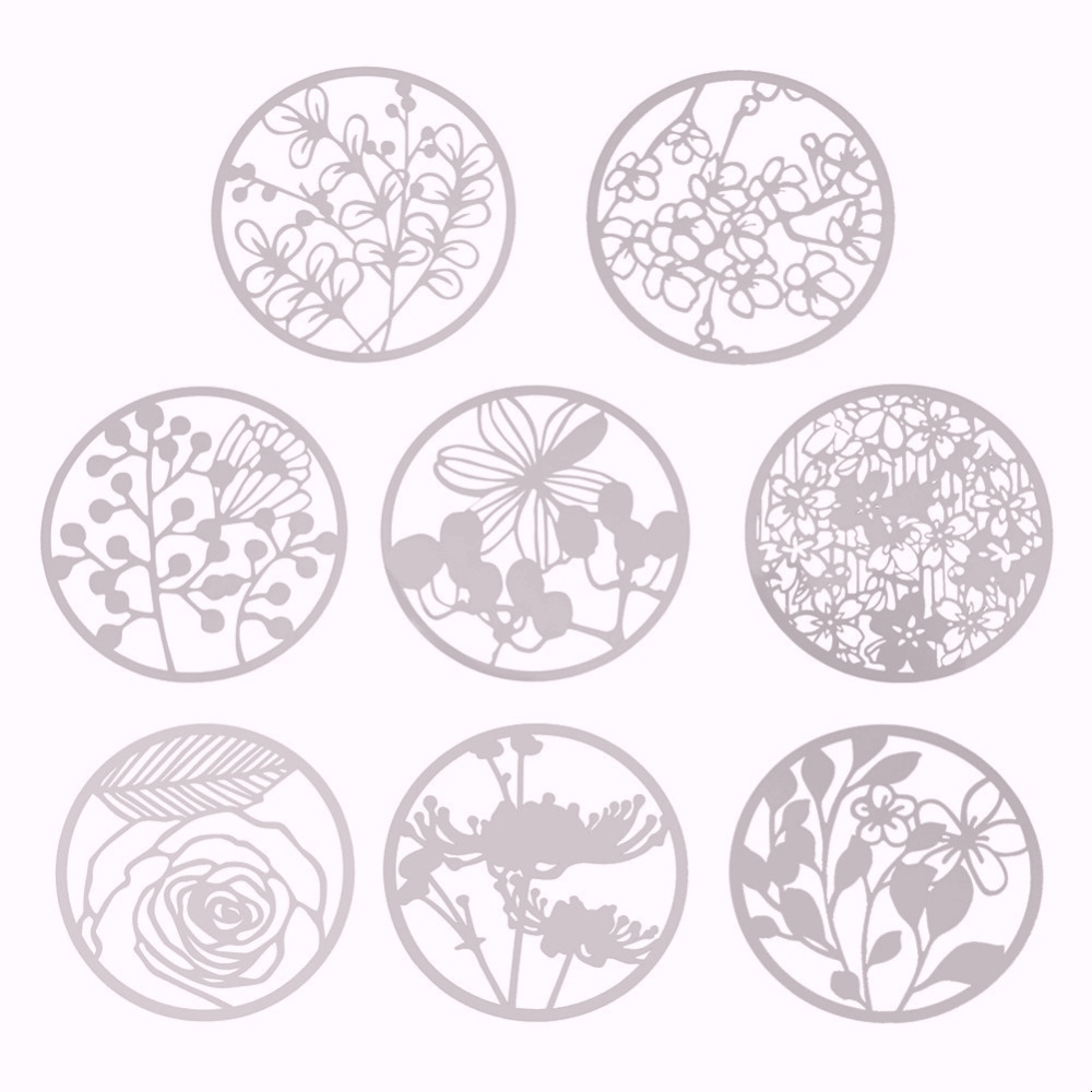 Creative Flower Babysbreath Hollow Ruler Drawing Template