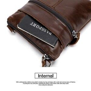 Image 5 - Mva Mannen Tas Echt Leer Voor Mannen Schoudertassen Hoge Kwaliteit Handtassen Kleine Vintage Mannen Crossbody Messenger Bag Sac een Belangrijkste