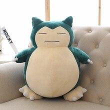 1pcs 20cm  toys for children Plush Toy Snorlax Plush Anime New Rare Soft Stuffed Animal Doll For Kid Gif KaBiShou toys toys