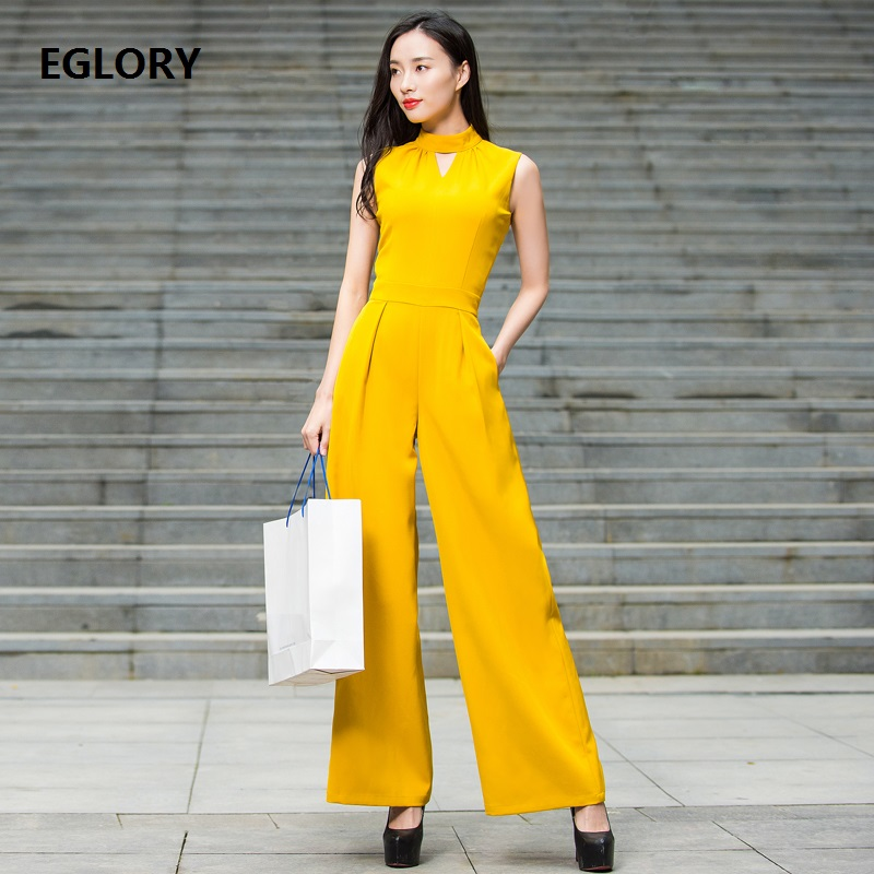 Luxury New Plus Size Jumpsuit Women Hollow Out Sexy Slim Fitted Straight Wide Leg Pocket Casual Long Jumpsuit Rompers XXXL Pant