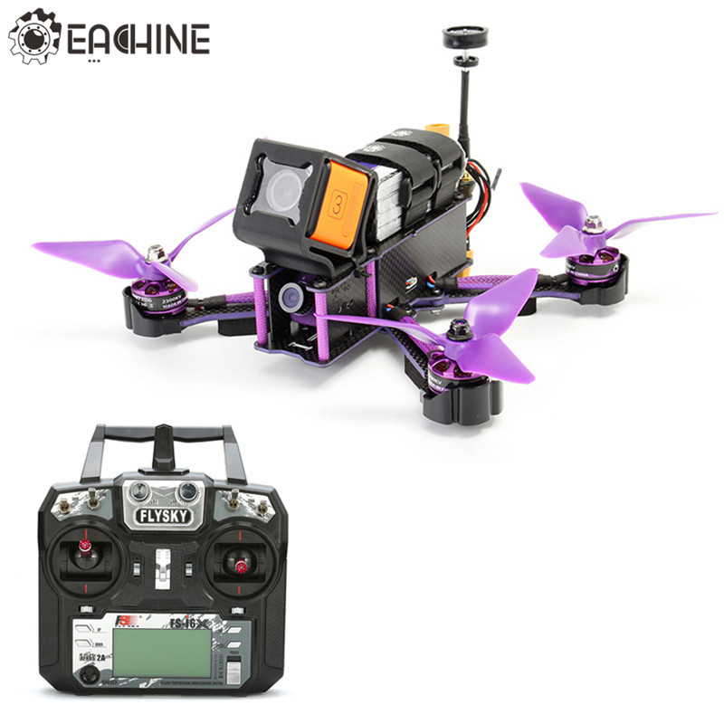 Eachine Wizard X220S X220 FPV Racer Drone F4 5.8G 72CH VTX 30A BLHeli_S 800TVL Camera w/ Flysky i6X RTF VS X220
