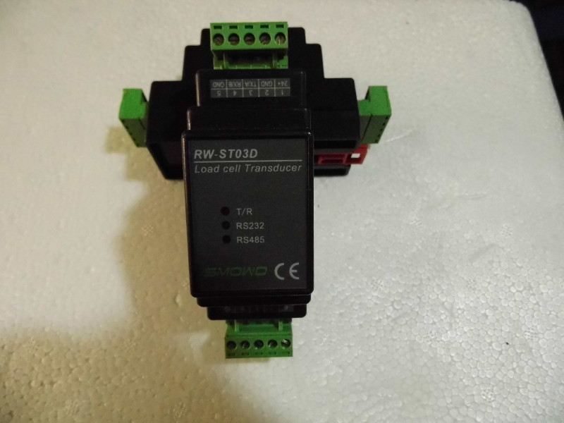 Free Shipping     RW-ST03D (GT01D) Weighing Sensor Digital Transmitter Rail Type 485 Force MODBUS Signal