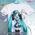 2017 Clothes Hatsune Miku T Shirt Anime Japanese Famous Animation Novelty Summer Men's T-shirt Cosplay Costume Clothing MD-002