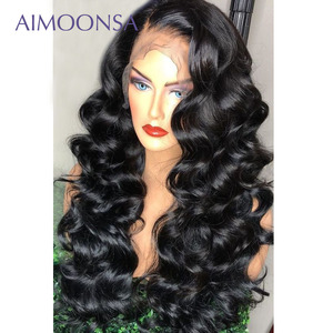 Lace Front Human Hair Wig 250