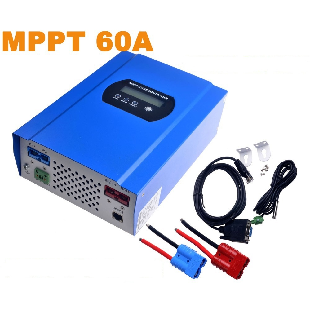 Buy 60a Mppt Solar Charger Controller