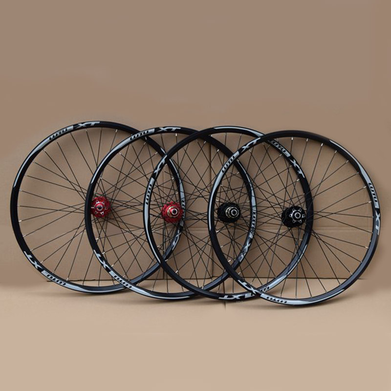 MTB Bike Wheelset Aluminum Alloy Wheel 32H Disc Brake 11 Speed 4 Bearings Bicycle Wheels Mountain Bike Part  26 27.5 29inchMTB Bike Wheelset Aluminum Alloy Wheel 32H Disc Brake 11 Speed 4 Bearings Bicycle Wheels Mountain Bike Part  26 27.5 29inch