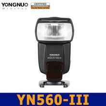 вспышка для селфи накамерный свет для фотоаппарата вспышка для фотоаппарата Вспышка для никон Yongnuo 2.4 г беспроводной флэш-вспышки YN-560 III YN560 для канона Nikon Pentax Panasonic Olympus цифровых зеркальных камер