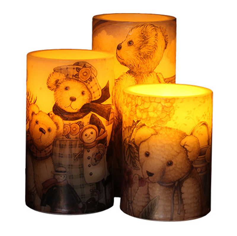 1pcs LED Electronic Flameless Candle Lights Remote Control Simulation Flame Flashing Candle Lamps Household Decoration