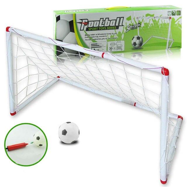 Us 235 96 Ems 20 Satz Super Fussball Sprot Spielzeug Serie Montage Fussballtor Ball Tur Spielzeug Kind Kinder Fussball Fans Outdoor Indoor Spielzeug
