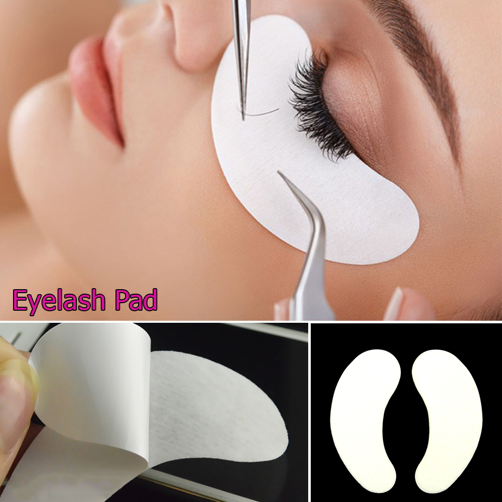 50 Pairs/Set Eye Patches Eyelash Under Eye Pads Lash Eyelash Extension Paper Patches Eye ...