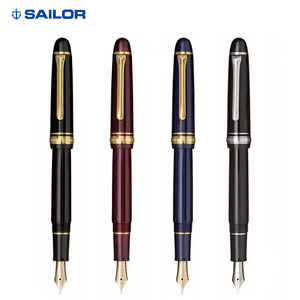Image 5 - Pens office Sailor fountain pen Japan PROMENADE 14K gold nib 11 1031 Gold plated parts superior quality gift
