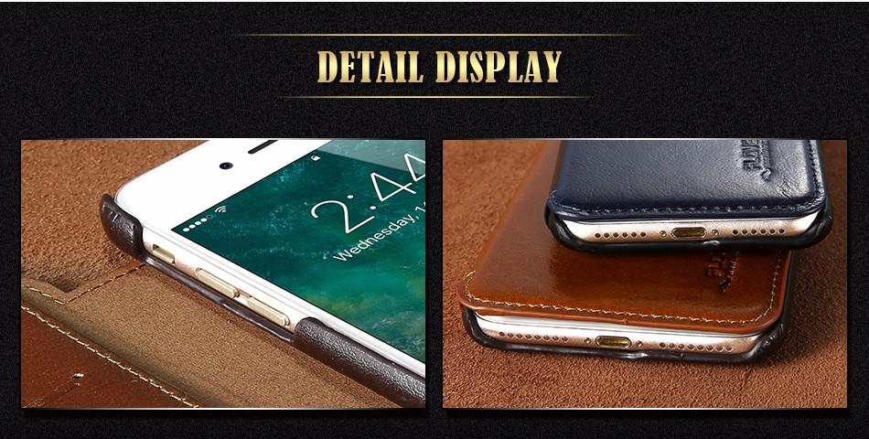 Floveme vintage klapki skóra case dla iphone 7 6 6 s pokrywa z karty uchwyt luksusowe wallet case for iphone 7 7 plus 6 6 s plus capa 1