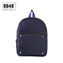 Frauen rucksack 8848 marke rucksäcke mode niet dekoration gymnasiast rucksack wasserdichte oxford weiche back 045-023