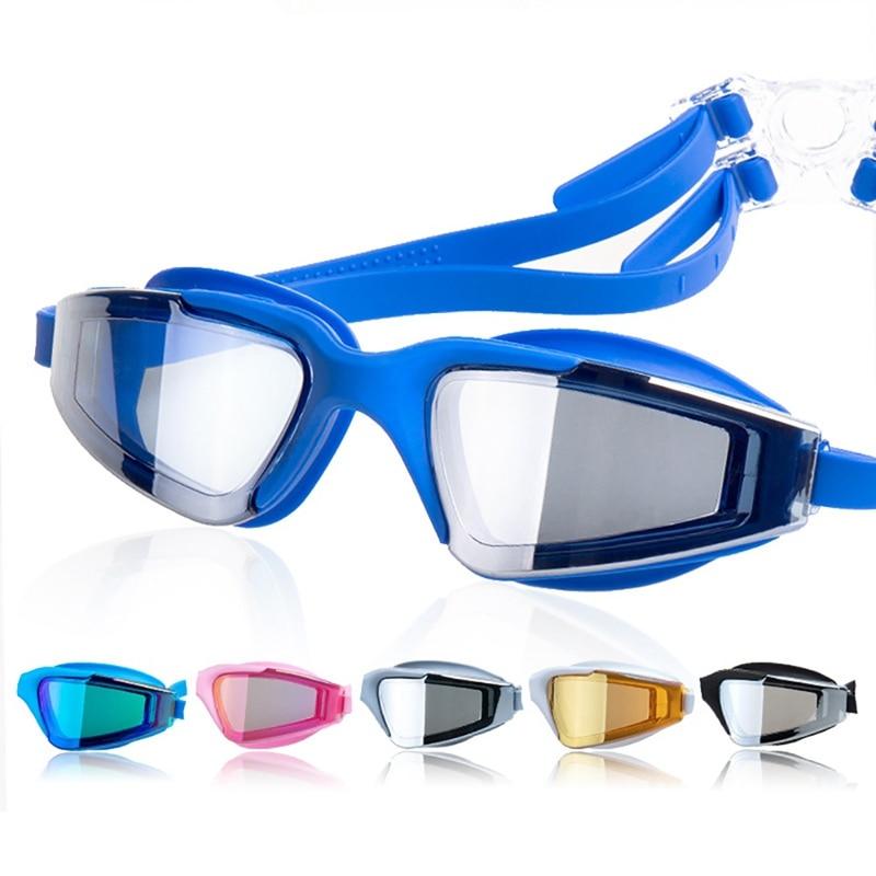 Swimming Goggles Men Women Anti-fog Anti-UV Protection Swimming Goggles Professional Electroplate Waterproof Swim Glasses ST