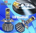 Hireno Car headlights H1 H7 LED Conversion Kits with Adapter fitting for Peugeot 307 All in One 6000k Super Bright 6000k White
