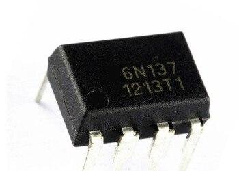 Free shipping 500PCS 6N137 EL6N137  DIP-8 New original