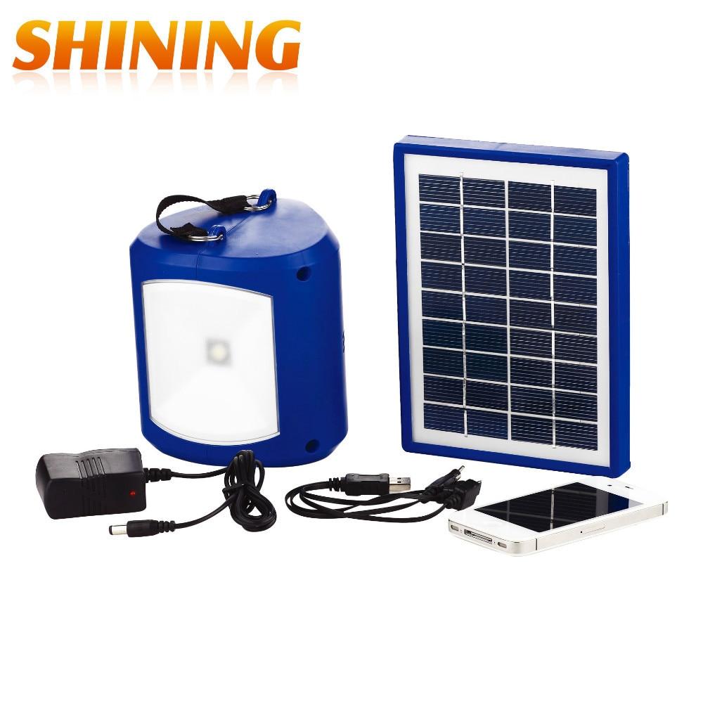 Indoor Outdoor Solar Panel Emergency Led Lantern Light Torch Solar Camping Lights Portable