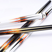 2017 Pool Billiard Cue Maple Wood 1 2 Jointed 9 5mm Snooker Cue Tips 11 5mm