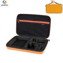 Большой портативный защитный чехол для хранения EVA и нейлон Водонепроницаемая походная коробка для GoPro hero 6 5 4 3 Аксессуары для камеры