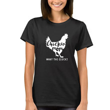 T-Shirt for Women with Chicken Print