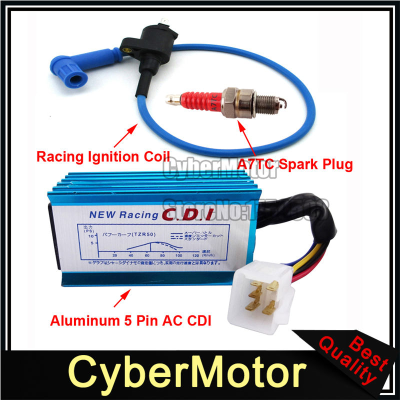 Spark Plug A7TC 50cc 110cc 150cc for Moped ATV Dirt Bike H A7TC