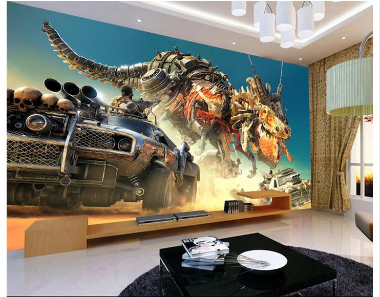 Buy customized 3d wallpaper 3d tv wall for Decoration murale wish