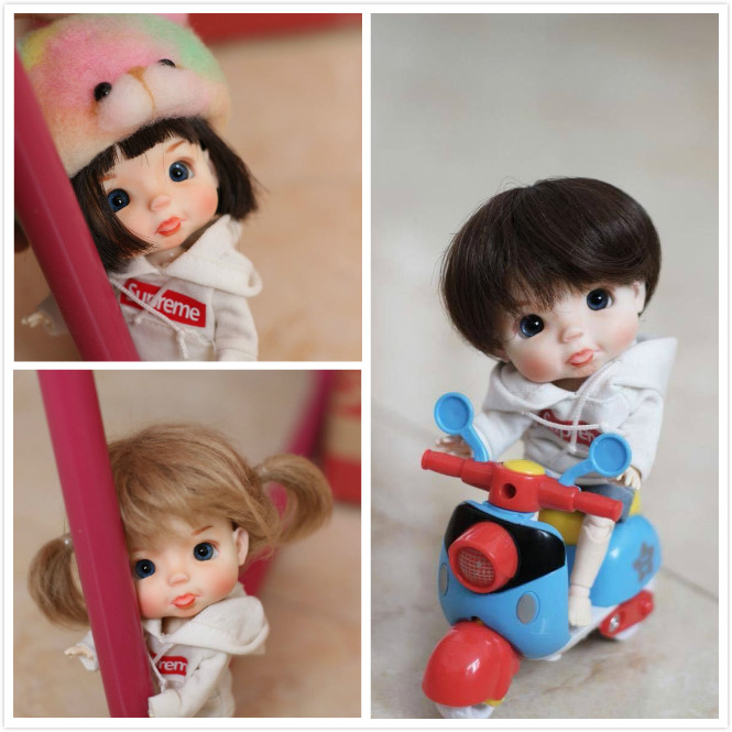 OB11 dolls customization OB doll DIY Mini Doll sell nude dolls