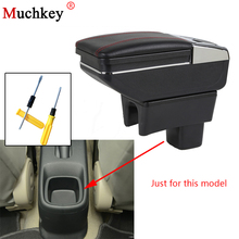 Armrest Box For SUZUKI SX4 2006-2018 Central Console Arm Rest Store Content Box Cup Holder Ashtray Seat Armrests Car Styling
